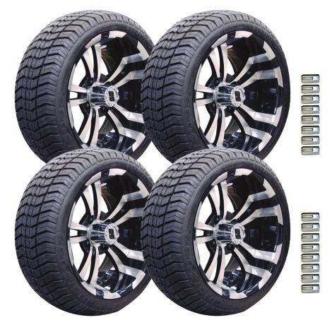 "14"" Maverick Wheel and Paramount Tire Package 