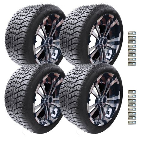 "12"" Maverick Wheel and Paramount Tire Package 