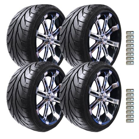 "14"" Spartan Wheel and KZT Tire Package 