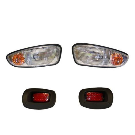 Headlight and Taillight Kit for EZGO RXV