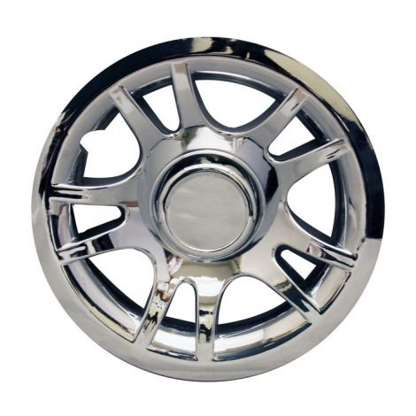 8' Chrome Split Spoke Wheel Cover