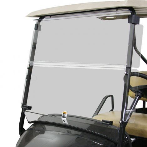 Folding Winged Windshield for EZGO TXT 2014+ - Tinted