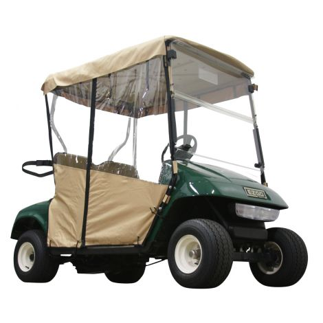 2 Pass Enclosure for EZGO TXT | Tan