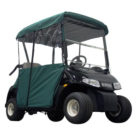 2 Pass Enclosure for EZGO RXV | Green