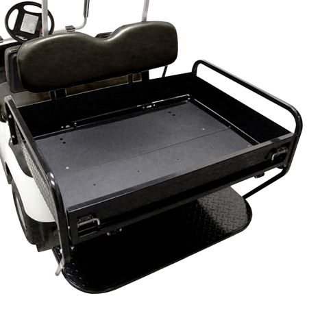 Rear Folding Seat Box Kit for Yamaha G14-G22- Black