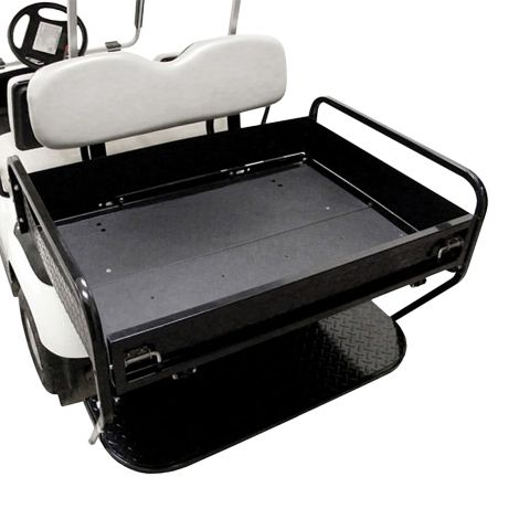 Rear Folding Seat Box Kit for Yamaha G14-G22- Ivory