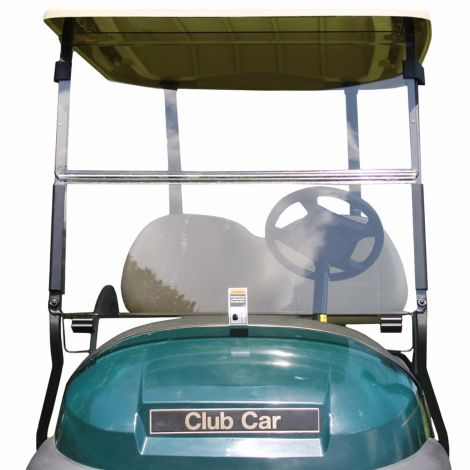 Folding Windshield for Club Car Precedent- Clear