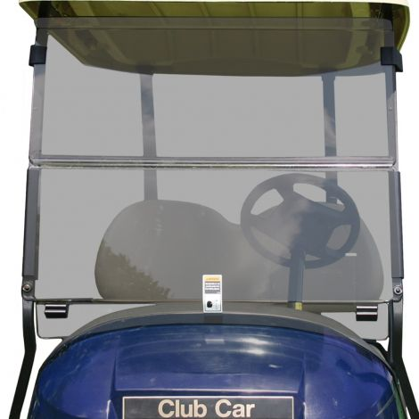 Impact Resistant Folding Windshield for Club Car Precedent