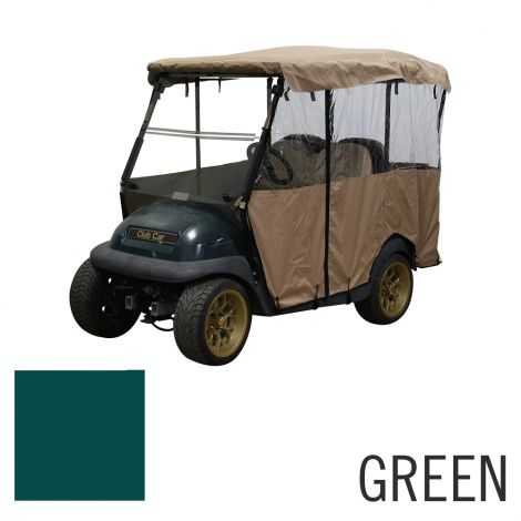 Club Car Precedent 4-Passenger Enclosure | Green