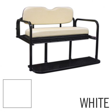 Titan Rear Seat Kit for Club Car DS-White