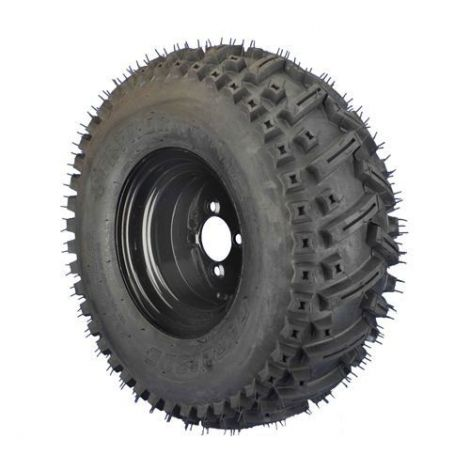22x9.00-10 Stryker with Black Steel Wheel Assembly (Passenger's Side)