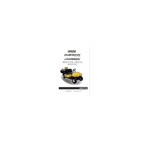 2006-2007 Service Parts Manual for Gas E-Z-GO ST Sport II & Cushman MPT/Industrial 800