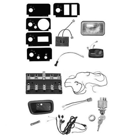 Light Kit for Gas E-Z-GO ST Vehicles
