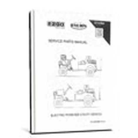 2009 - Current Service Parts Manual for E-Z-GO ST Custom 2+2 Electric Vehicle