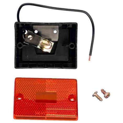 Turn Signal & Tail Light Assembly with Amber Lens