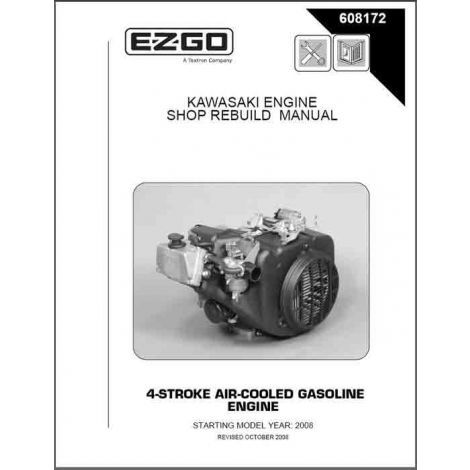 2008 Four Stroke Air-cooled Gas Engine