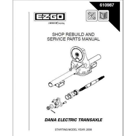 2009 Dana Axle Rebuild Manual