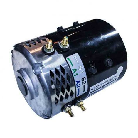 Vented Electric Motor, 14.9Mph