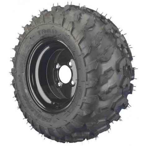 20x11.00-10 4 Ply Trailwolf with Black Steel Wheel Assembly (Passenger's Side)